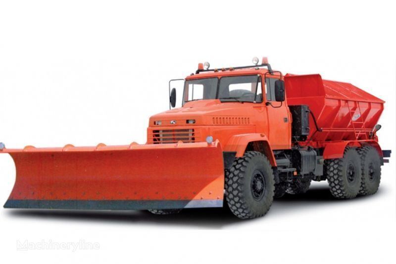 KRAZ 6322 MDKZ-30 Kombinirovannaya dorozhnaya mashina  road sweeper