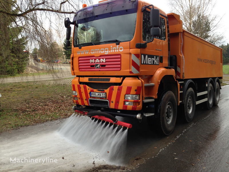 MAN TGA 41.440 8x8 road sweeper