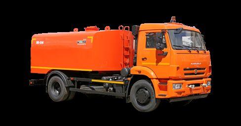 KAMAZ Kanalopromyvochnaya mashina KO-514 sewer jetter truck