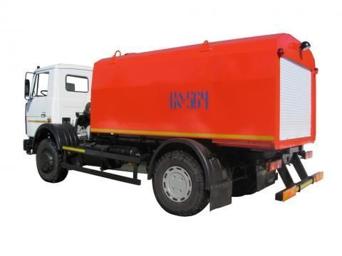 MAZ KO-564-30  sewer jetter truck