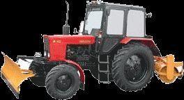 MTZ 82 MK (otval+shchetka) snowblower