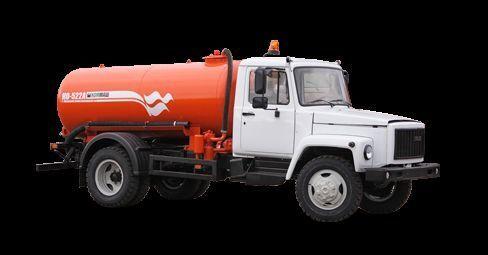 GAZ Vakuumnaya mashina KO-522B vacuum truck