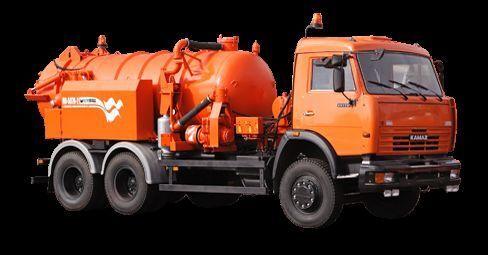KAMAZ Ilososnaya mashina KO-507A-2 vacuum truck
