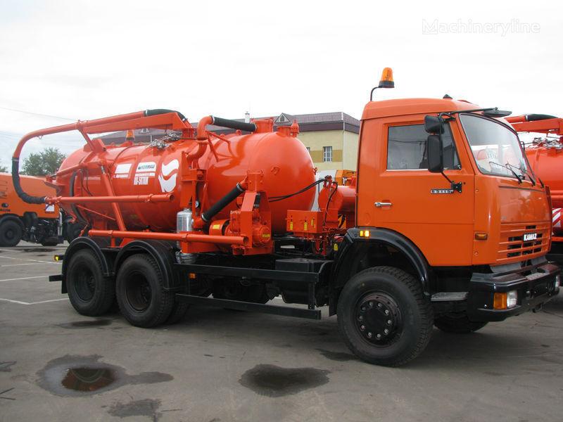 KAMAZ Ilososnaya mashina KO-507A-3 vacuum truck