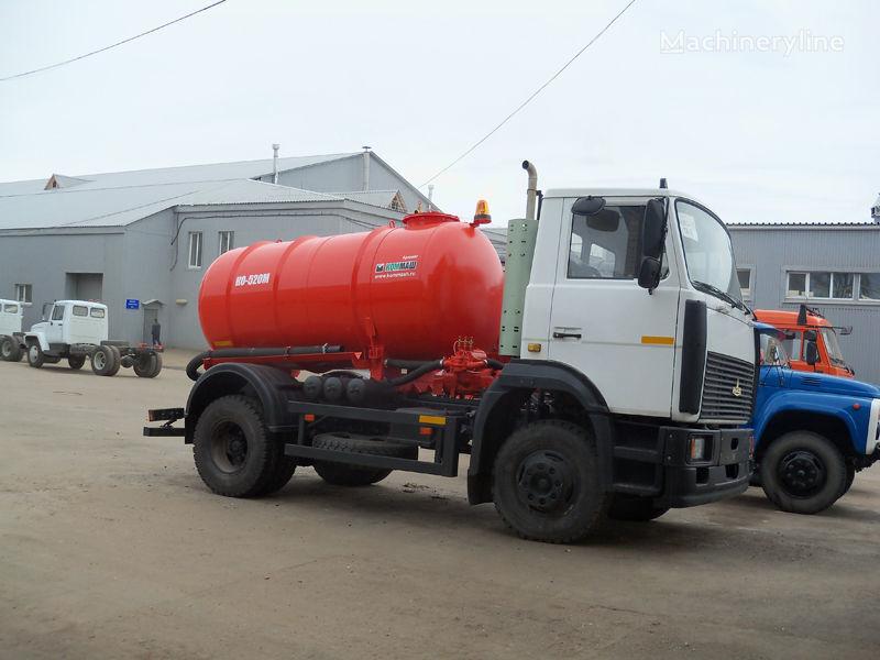MAZ Vakuumnaya mashina KO-520M vacuum truck