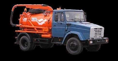ZIL Ilososnaya mashina KO-510D vacuum truck