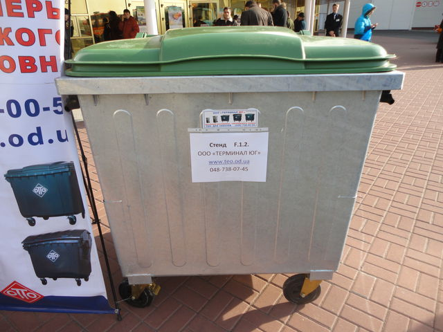 new 1100 l waste container