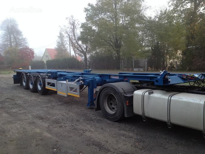 20FT,2 X 20FT,30FT,40FT, container chassis semi-trailer