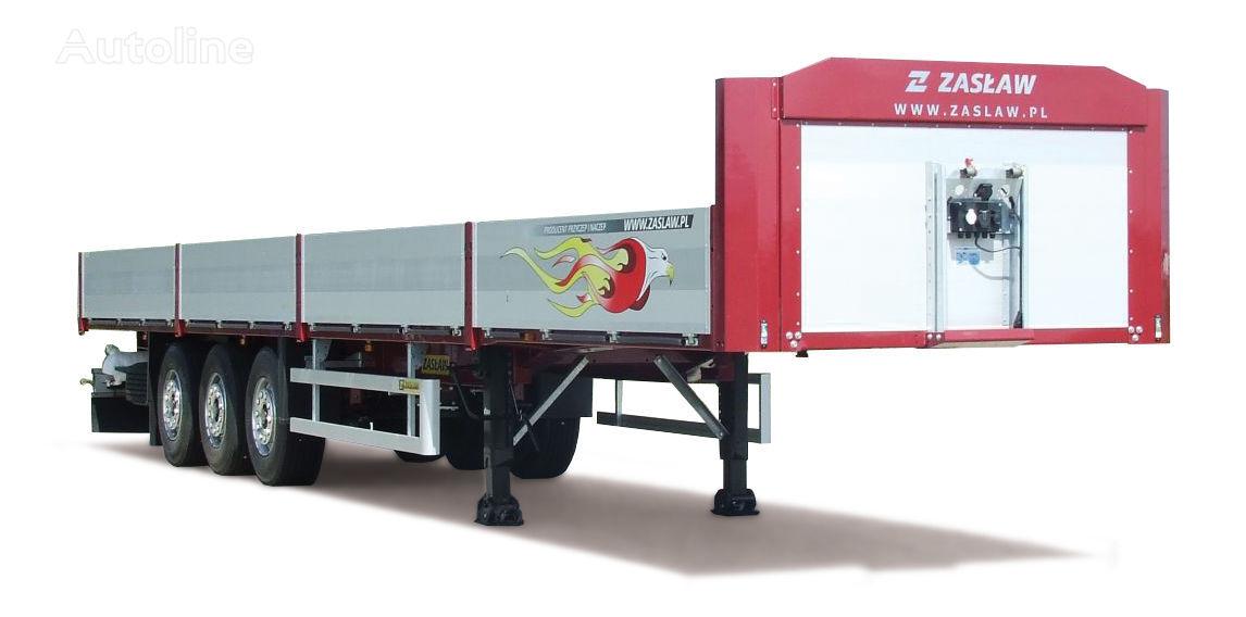 new ZASLAW TRAILIS NS.13.06.BESIP flatbed semi-trailer