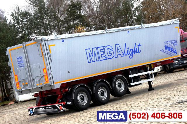 new KARGOMIL 42 - 45 m³ Alubox - ULTRA - light only 5,800 kg weight ! READY T grain truck semi-trailer