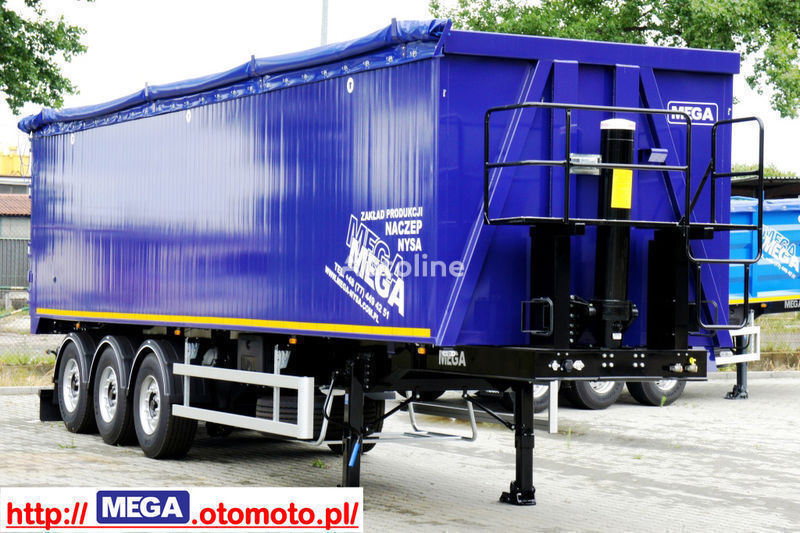 new MEGA 55/11300 KD grain truck semi-trailer