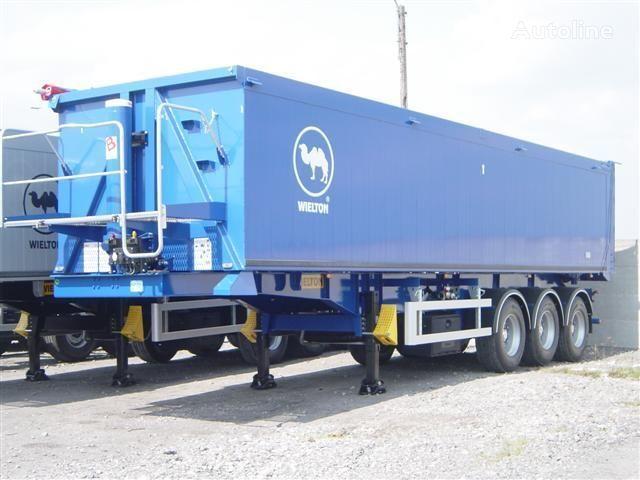 new WIELTON NW - 3 (50m3) grain truck semi-trailer