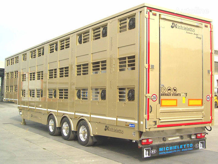 new MICHIELETTO livestock semi-trailer