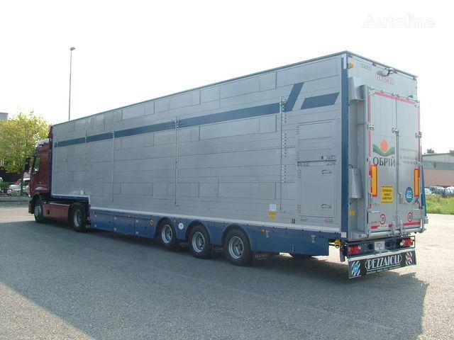 new PEZZAIOLI SBA31  3+3 etazha zagruzki livestock semi-trailer