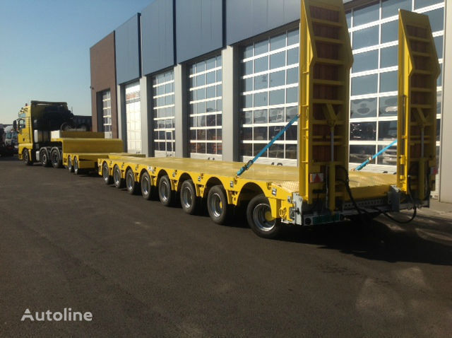 low bed semi-trailer
