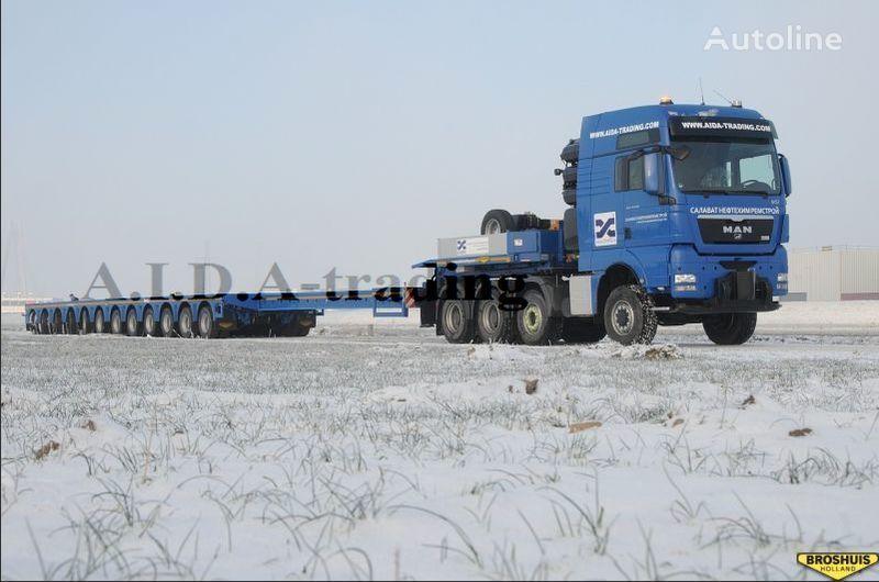 new BROSHUIS 12 Axles low bed semi-trailer