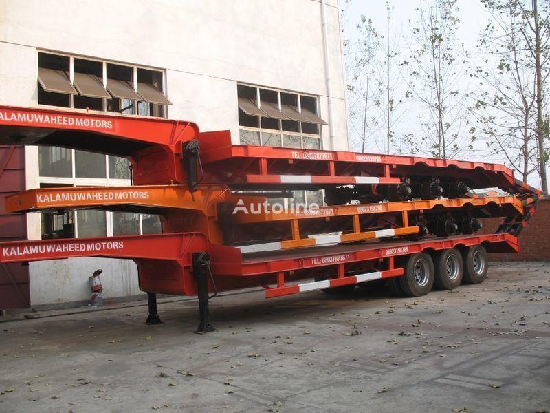 new CHEREAU 40T.50T.60T.70T.80T low bed semi-trailer