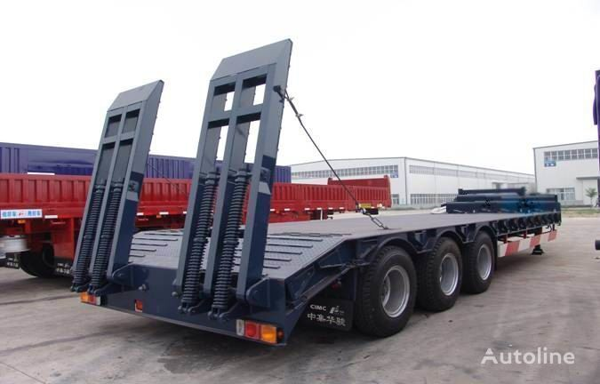 new CMT CIMC 70T 50T low bed semi-trailer
