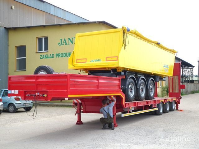 new JANMIL Nizkoramnaya, Tieflader, Low loader, SAF - neu!!! low bed semi-trailer