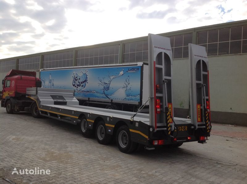new LIDER 2017 MODELS YEAR NEW LOWBED TRAILER FOR SALE low bed semi-trailer