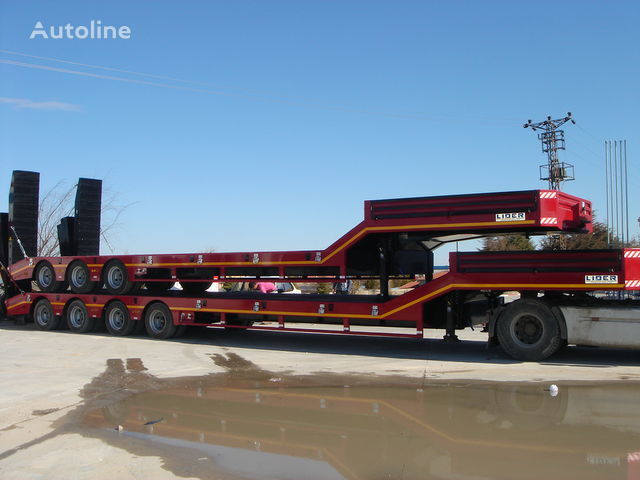 new LIDER NEW remorque surbaissée 2017 YEAR (MANUFACTURER COMPANY) low bed semi-trailer