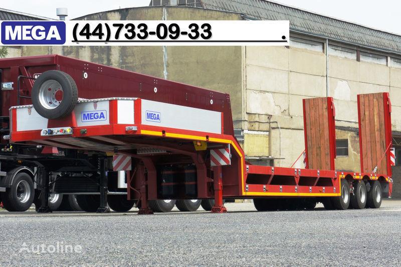 new MEGA 3 OSIOWA / ZANIŻONY POKŁAD / NAJAZDY HYDRAULICZNE!! low bed semi-trailer