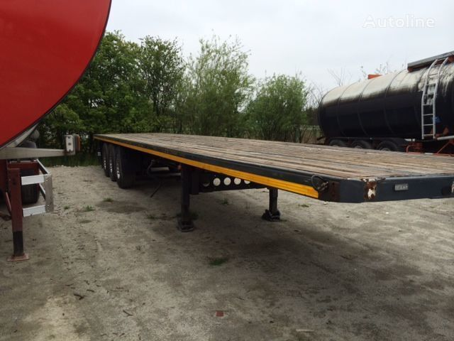 LECI TRAILER 2007,abs,ebs,disc platform semi-trailer