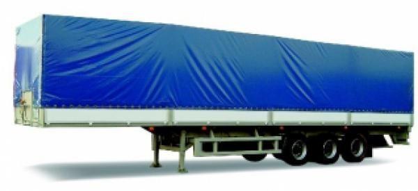 new MAZ 975830 platform semi-trailer