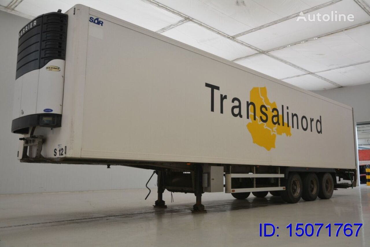 SOR 33 PAL. + Carrier refrigerated semi-trailer