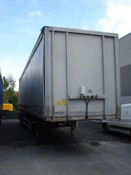 DESOT Sliding curtens + COIL  tilt semi-trailer