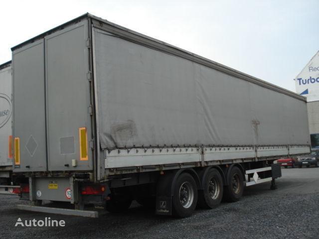 LECI TRAILER schuifzeilenoplegger + COIL  tilt semi-trailer