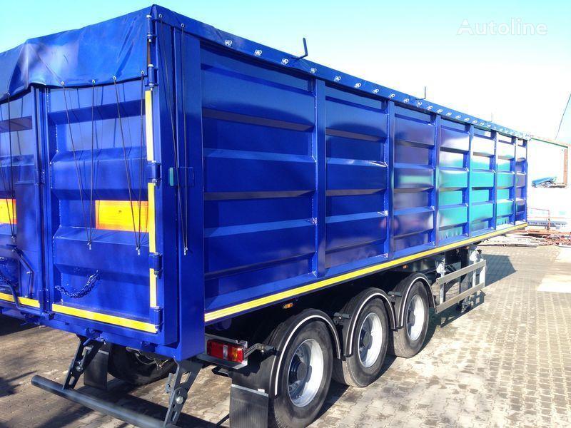 new BODEX tipper semi-trailer