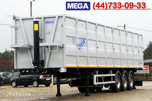 new KARGOMIL 70 m³ / 13,0 m LONG FOR SCRAP / IRON DOOR / STEEL tipper semi-trailer