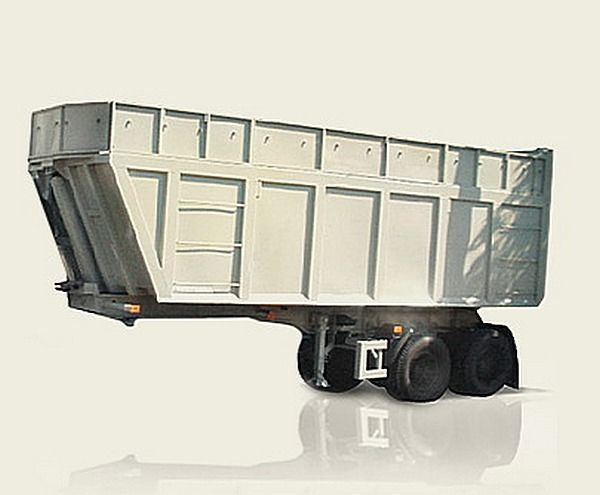 new MAZ 950600-030 tipper semi-trailer