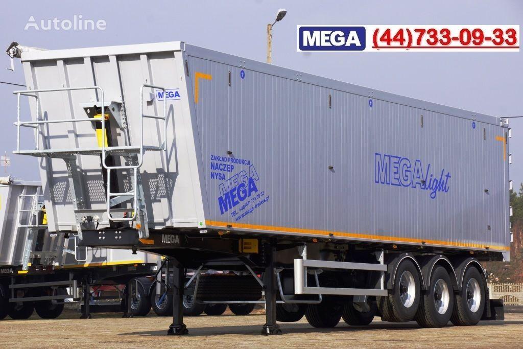 new MEGA 10,4 m / 55 M³ ALUM TIPPER