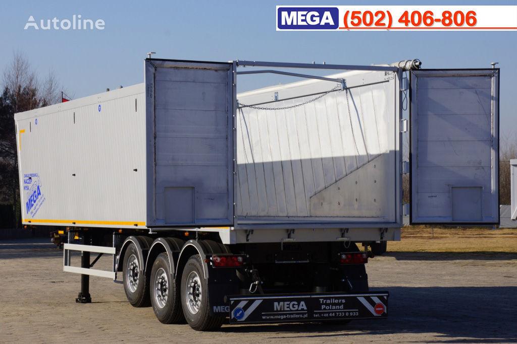 new MEGA 10,4 m / 55 M³ ALUM TIPPER SUPER LIGHT 6,2 T ! BRAND NEW ! tipper semi-trailer