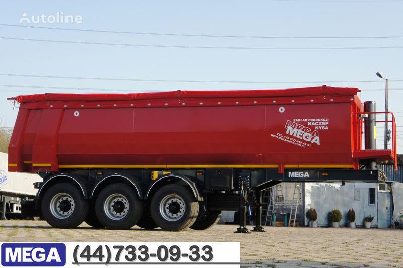 new MEGA 30/8360 kcc - camosval ZhЁLOB 30 kub.m., pama k tyagachu 6x4 ! tipper semi-trailer