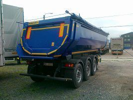 new WIELTON tipper semi-trailer
