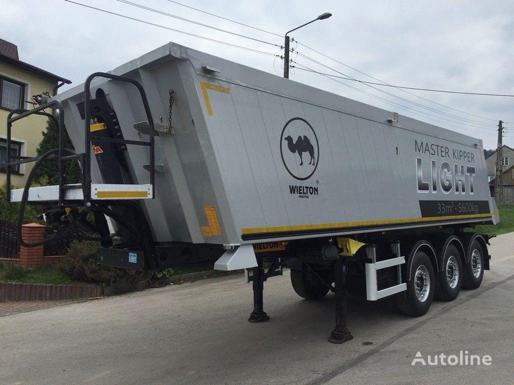 WIELTON WYWROTKA / 5600 KG / 2011 / 33M3 / JAK NOWA / tipper semi-trailer