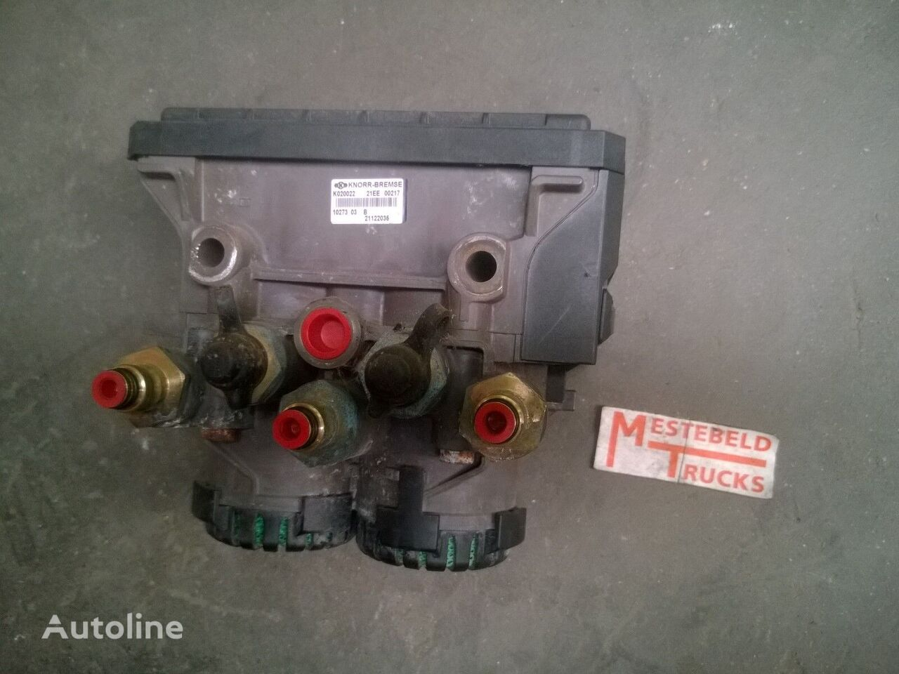 brake chamber for RENAULT EBS Achterasmodulator truck