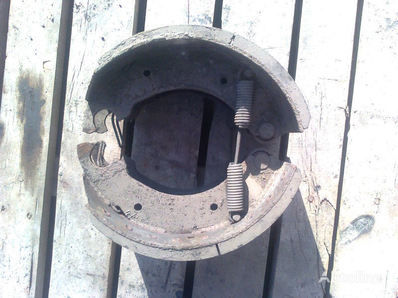 Tormoznye kolodki na polupricep,Cherkassy brake pads for semi-trailer