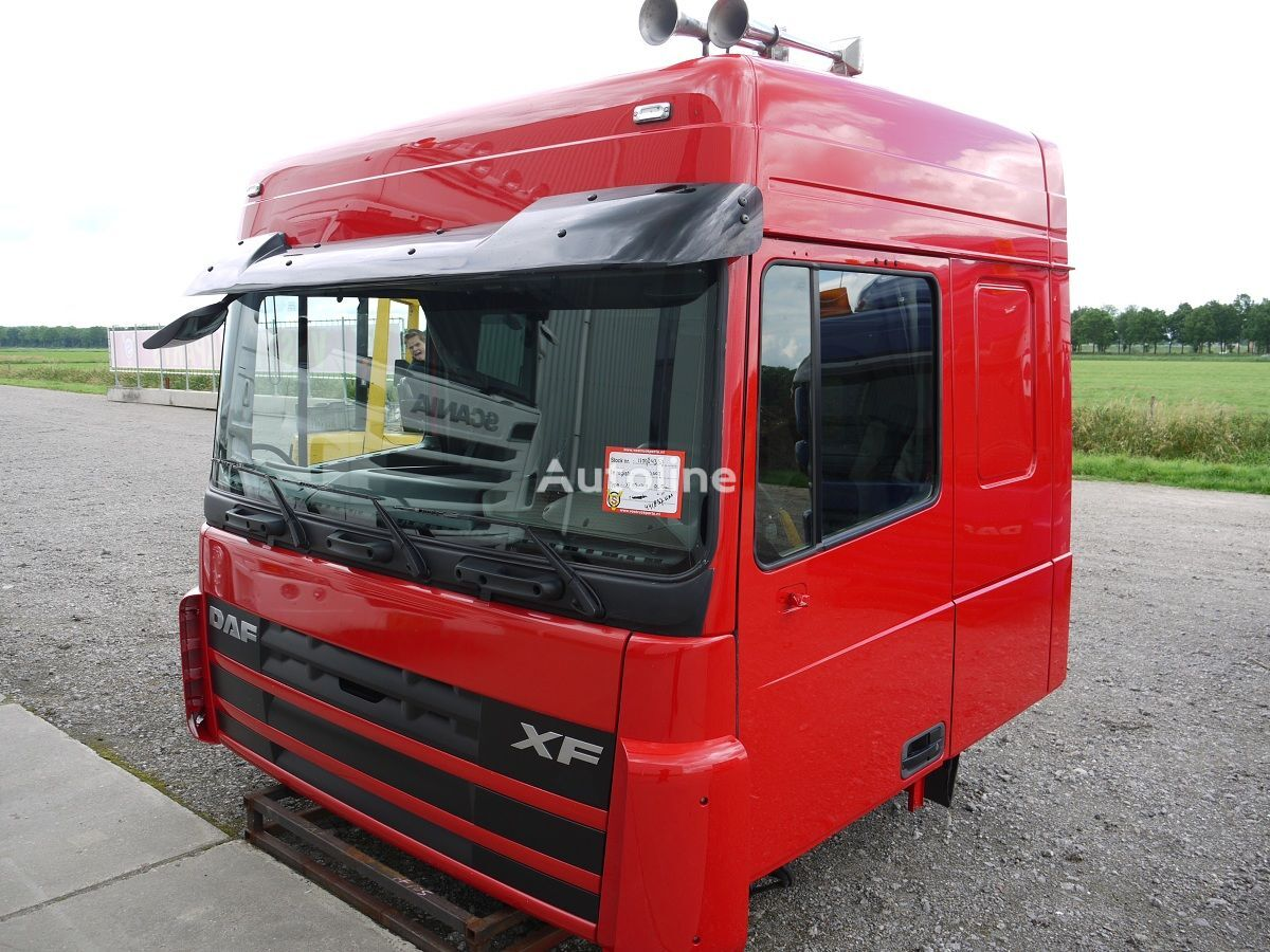 damaged cab for DAF XF105 SPACE CAB tractor unit