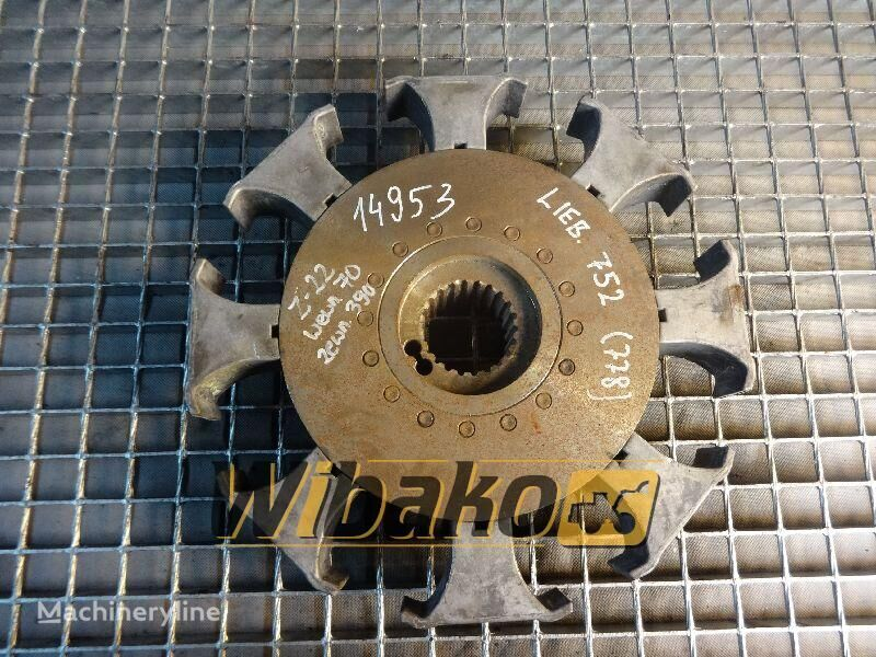 Coupling Liebherr 752 clutch plate for 752 (22/70/390) other construction equipment