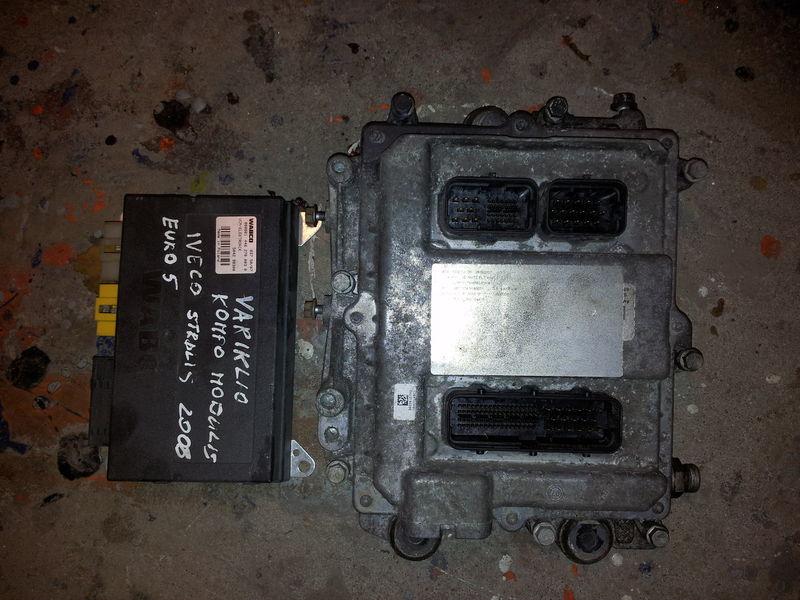 IVECO EURO5 450PS ECU 0281020048 engine computer EDC set (EDC, VCM - ELECTRONIC, chip), ignition set, 4462700020, 504122542 control unit for IVECO STRALIS tractor unit