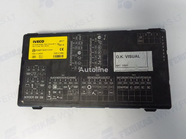 ROBERT BOSCH GmbH multiplex body computer 504276228, 504134192 (WORLDWIDE DELIVERY) control unit for IVECO STRALIS tractor unit