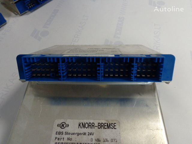 KNOR-BREMSE EBS Steuergerat 24V 0486106027,0486106052,0486106041,0486106071, 81258087057 control unit for MAN tractor unit
