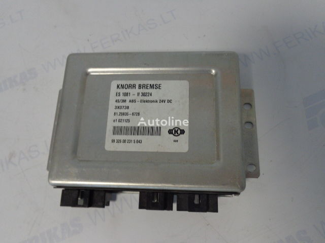 KNORR BREMSE 4S/3M ABS-Elektronik control unit for MAN tractor unit