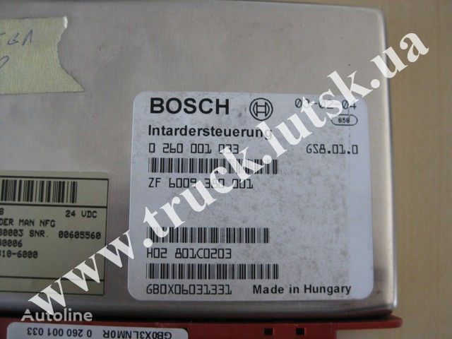 MAN Bosch control unit for MAN TGA truck
