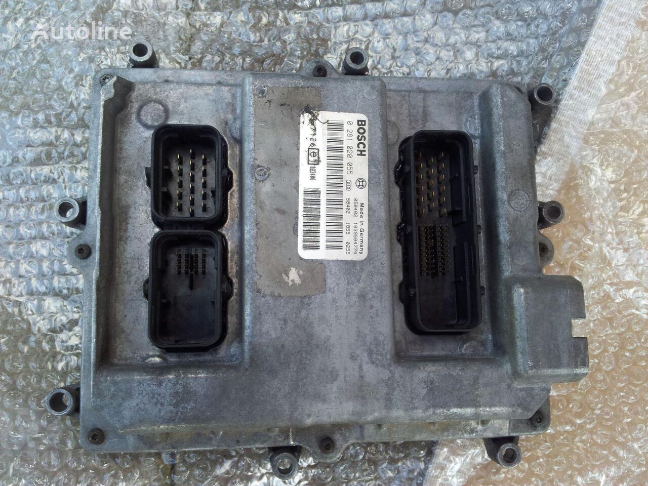 MAN Common Rail EDC, ECU electronic diesel control 0281020055, D2066LF01, 51258037126, 51258337169, 51258037127, 51258337168 control unit for MAN TGA tractor unit