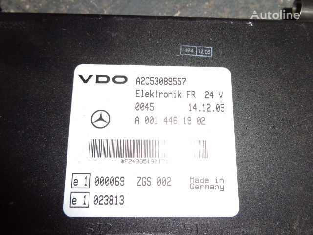 Mercedes Benz Actros MP2, MP3, MP4, FR control unit ECU 0014461902, 0014467302, 014464002, 0014464102 control unit for MERCEDES-BENZ Actros tractor unit